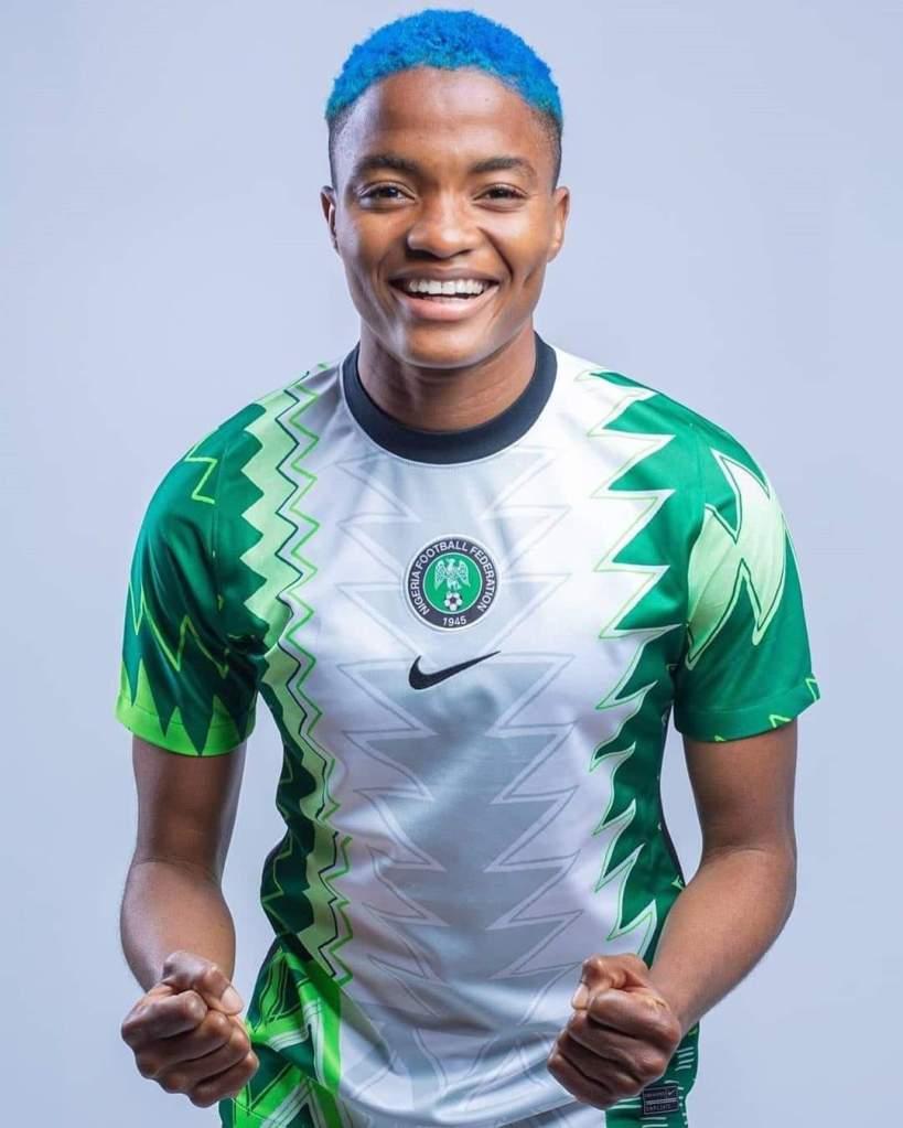 Super Eagles and Falcons stars model Nigeria's new kit – OJB SPORT